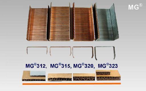 Heftklammern für Bodenheftmaschinen