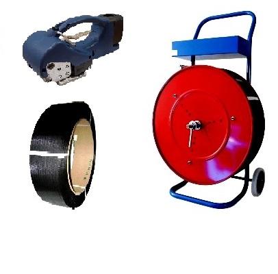 Umreifungsset für Polypropylenband 12,7 mm mit Akku