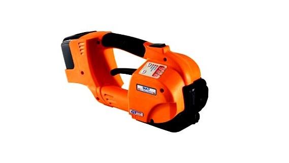 Akku Spann- und Verschlußgerät E1, vollautomatisch, für PP-band