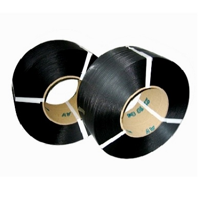 Polypropylenband schwarz 12,0 x 0,55 mm, 3000 m Rolle