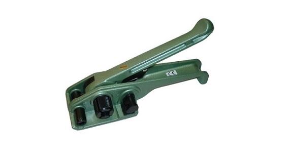 Spanngerät für Polypropylenband 13 und 16 mmn