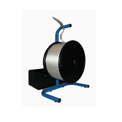 Abrollgerät für Poly-Fadenband