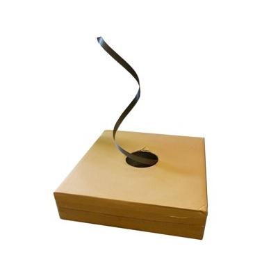 Polypropylenband schwarz 12,7 x 0,50 mm, im Spendenkarton