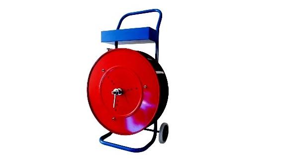 Abrollwagen für Polypropylenband mit bis zu 406 mm Kern